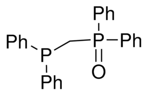 Bis(diphenyl)phosphinomethane monooxide Chemical Structure