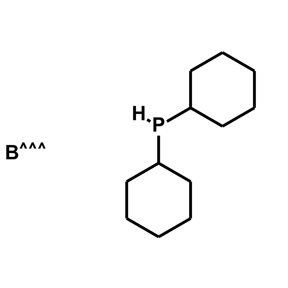 Dicyclohexylphosphine borane complex Chemical Structure