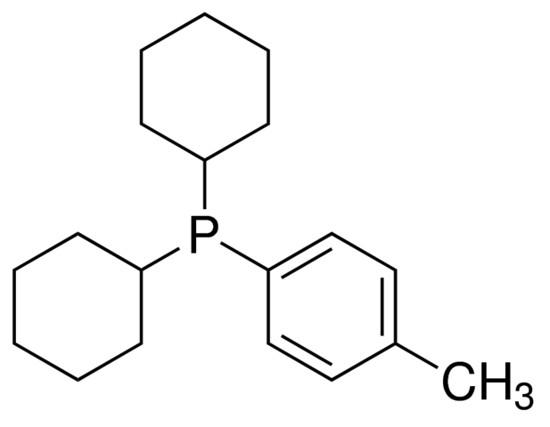 Dicyclohexyl-(p-tolyl)-phosphine Chemical Structure