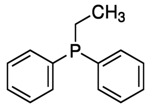 Ethyldiphenylphosphine Chemical Structure