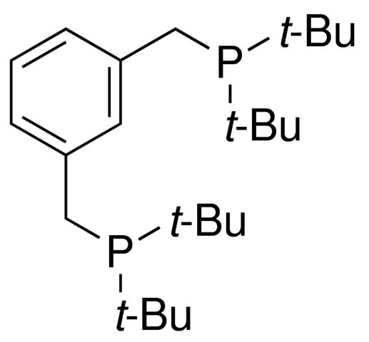1,3-Bis(di-t-butylphosphinomethyl)benzene Chemical Structure