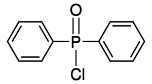 Diphenylphosphinic chloride Chemical Structure