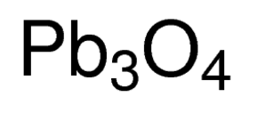 Lead (IV) Oxide, red Chemical Structure