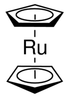 Bis(cyclopentadienyl)ruthenium Chemical Structure
