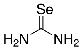 Selenourea Chemical Structure