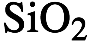 Silicon (IV) Oxide Chemical Structure