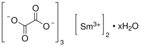 Samarium (III) oxalate hydrate Chemical Structure