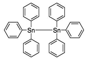 Hexaphenylditin Chemical Structure