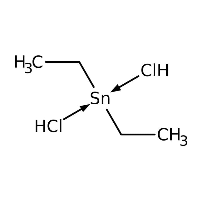 Diethyltindichloride Chemical Structure
