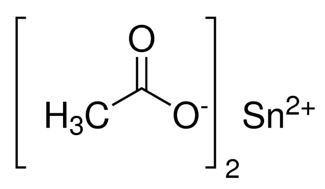 Tin(II) acetate Chemical Structure
