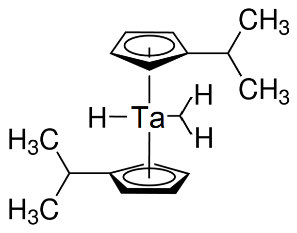 Bis(isopropylcyclopentadienyl)tantalum trihydride Chemical Structure