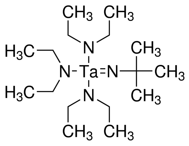 Tris(diethylamido)(tert-butylimido)tantalum(V) Chemical Structure