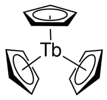 Tris(cyclopentadienyl)terbium(III) Chemical Structure