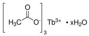 Terbium(III) acetate hydrate Chemical Structure