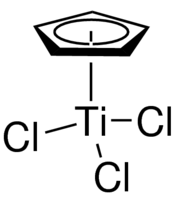 Cyclopentadienyltitanium trichloride Chemical Structure