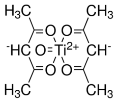 Titanium(IV) oxide acetylacetonate Chemical Structure