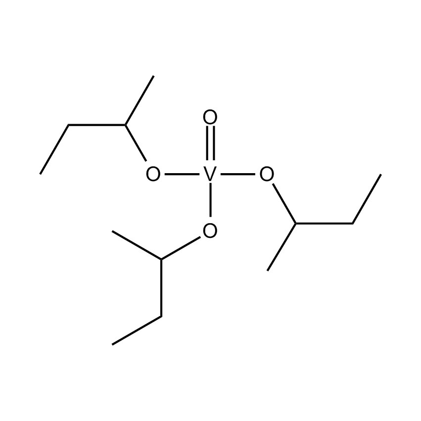Vanadium triisobutoxide oxide Chemical Structure