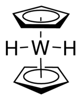 Bis(cyclopentadienyl)tungsten dihydride Chemical Structure