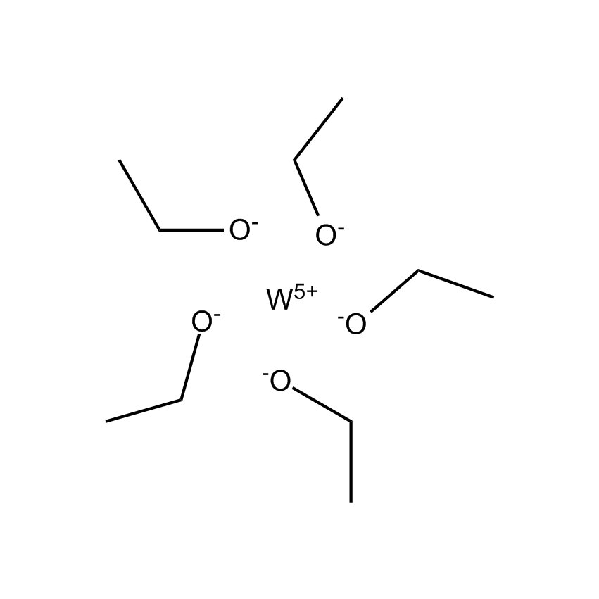 Tungsten(VI) ethoxide Chemical Structure