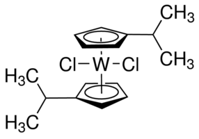 Bis(isopropylcyclopentadienyl)tungsten dichloride Chemical Structure
