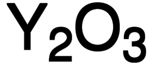 Yttrium Oxide Chemical Structure