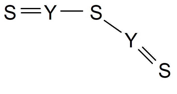 Yttrium Sulfide Chemical Structure