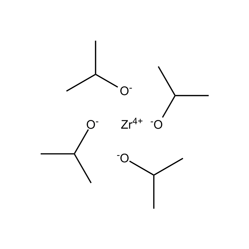 Zirconium(IV)isopropoxide Chemical Structure