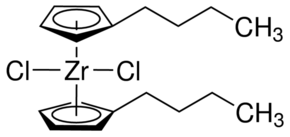 Bis(n-butylcyclopentadienyl)zirconium(IV) dichloride Chemical Structure
