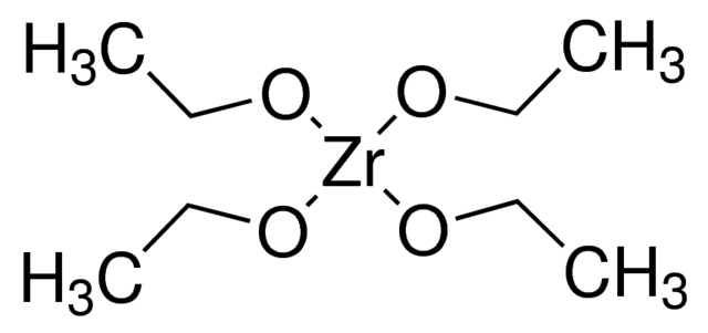Zirconium(IV)ethoxide Chemical Structure
