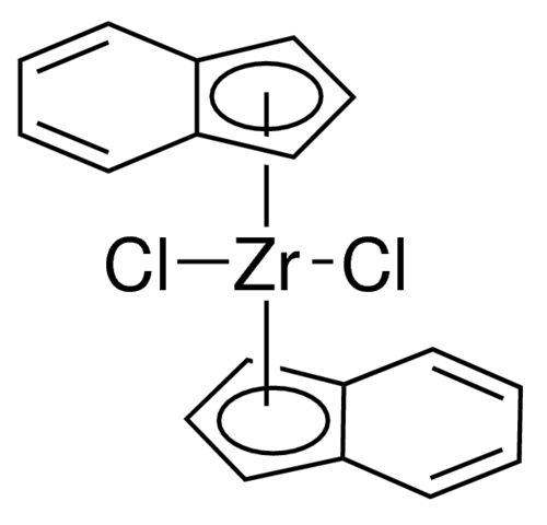 Dichlorobis(indenyl)zirconium(IV) Chemical Structure